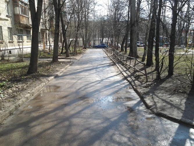 дворовая дорога