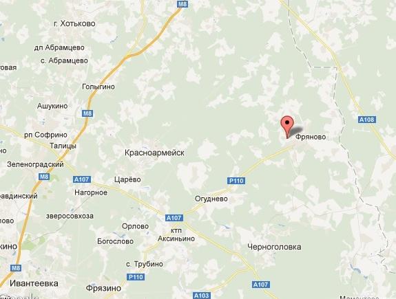 Земельный участок Щелковский район Московской области