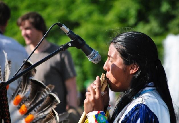Индейцы музыканты в Щелково